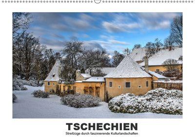 Tschechien - Streifzüge durch faszinierende Kulturlandschaften (Wandkalender 2019 DIN A2 quer), Christian Hallweger