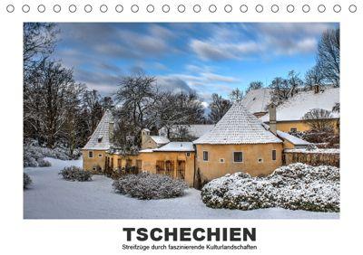 Tschechien - Streifzüge durch faszinierende Kulturlandschaften (Tischkalender 2019 DIN A5 quer), Christian Hallweger