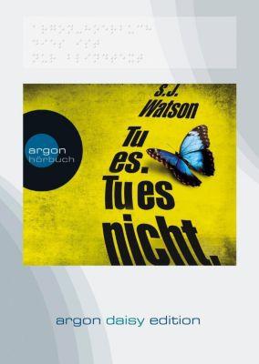 Tu es. Tu es nicht, 1 MP3-CD (DAISY Edition), S. J. Watson