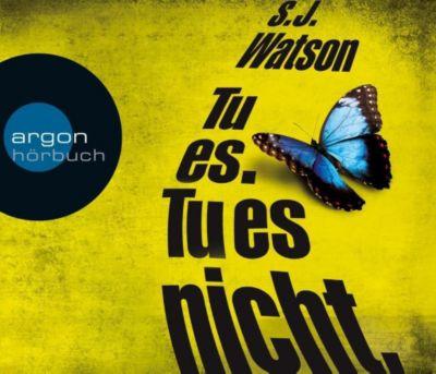 Tu es. Tu es nicht., 6 Audio-CDs, S. J. Watson