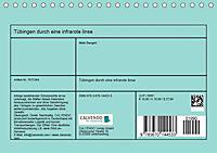 Tübingen durch eine infrarote linse (Tischkalender 2019 DIN A5 quer) - Produktdetailbild 2