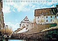 Tübingen durch eine infrarote linse (Tischkalender 2019 DIN A5 quer) - Produktdetailbild 5