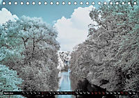 Tübingen durch eine infrarote linse (Tischkalender 2019 DIN A5 quer) - Produktdetailbild 7