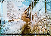 Tübingen durch eine infrarote linse (Tischkalender 2019 DIN A5 quer) - Produktdetailbild 1