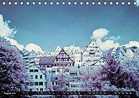 Tübingen durch eine infrarote linse (Tischkalender 2019 DIN A5 quer) - Produktdetailbild 8