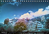 Tübingen durch eine infrarote linse (Tischkalender 2019 DIN A5 quer) - Produktdetailbild 9