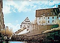 Tübingen durch eine infrarote linse (Wandkalender 2019 DIN A3 quer) - Produktdetailbild 7
