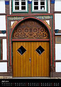 Türen und Portale aus Warburg/Westfalen (Wandkalender 2019 DIN A2 hoch) - Produktdetailbild 7