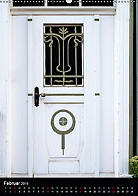 Türen und Portale aus Warburg/Westfalen (Wandkalender 2019 DIN A2 hoch) - Produktdetailbild 2