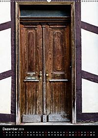 Türen und Portale aus Warburg/Westfalen (Wandkalender 2019 DIN A2 hoch) - Produktdetailbild 12
