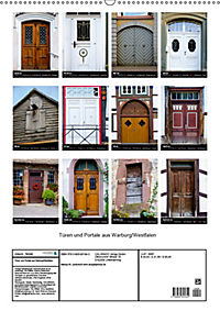 Türen und Portale aus Warburg/Westfalen (Wandkalender 2019 DIN A2 hoch) - Produktdetailbild 13