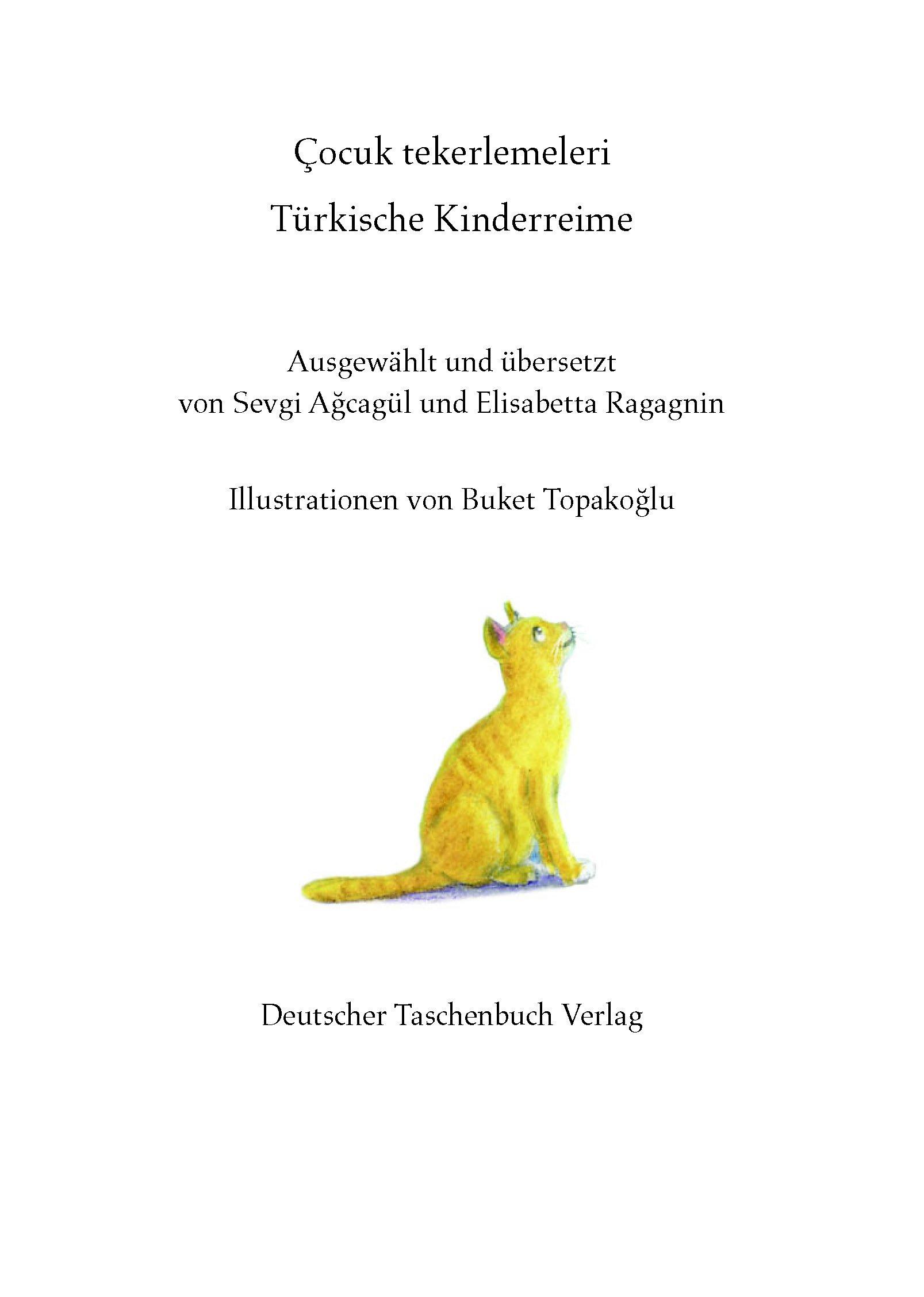 Türkische Kinderreime Buch Versandkostenfrei Bei Weltbildde