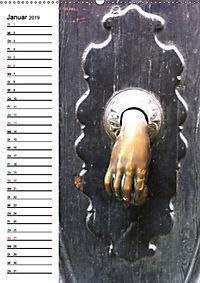 Türklopfer 2 (Wandkalender 2019 DIN A2 hoch) - Produktdetailbild 1