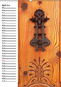 Türklopfer 2 (Wandkalender 2019 DIN A2 hoch) - Produktdetailbild 4