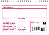 Tulpen, Tulips, Tulipes (Tischkalender 2019 DIN A5 quer) - Produktdetailbild 13