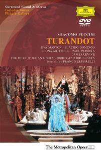 Turandot (Ga), Marton, Mitchell, Domingo, Plishka, Levine, Moo