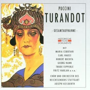 Turandot (Ga), Chor & Orch.Des Reichssenders Stuttgart