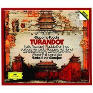 Turandot (Ga), Ricciarelli, Domingo, Karajan, Wp