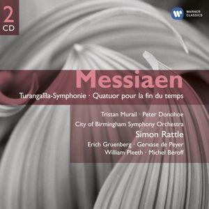 Turangalila Sinfonie/+, Rattle, Cbso, Beroff, Donohoe