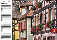 Turckheim - Malerischer Winzerort im Elsass (Tischkalender 2019 DIN A5 quer) - Produktdetailbild 3
