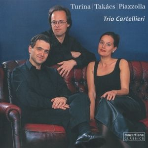 Turina-Takács-Piazzolla, Trio Cartellieri