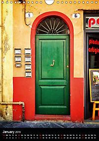 Tuscan Doors (Wall Calendar 2019 DIN A4 Portrait) - Produktdetailbild 1
