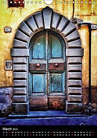 Tuscan Doors (Wall Calendar 2019 DIN A4 Portrait) - Produktdetailbild 3