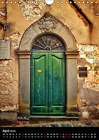 Tuscan Doors (Wall Calendar 2019 DIN A4 Portrait) - Produktdetailbild 4