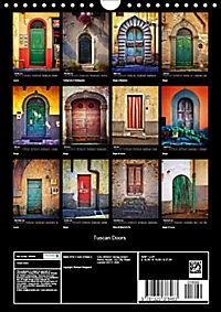 Tuscan Doors (Wall Calendar 2019 DIN A4 Portrait) - Produktdetailbild 13