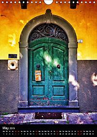 Tuscan Doors (Wall Calendar 2019 DIN A4 Portrait) - Produktdetailbild 5