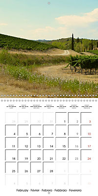 TUSCANY Land of Wine (Wall Calendar 2019 300 × 300 mm Square) - Produktdetailbild 2