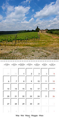 TUSCANY Land of Wine (Wall Calendar 2019 300 × 300 mm Square) - Produktdetailbild 5
