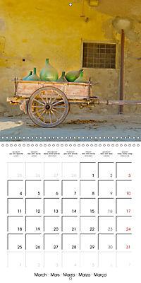 TUSCANY Land of Wine (Wall Calendar 2019 300 × 300 mm Square) - Produktdetailbild 3