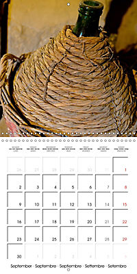 TUSCANY Land of Wine (Wall Calendar 2019 300 × 300 mm Square) - Produktdetailbild 9