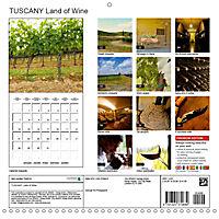 TUSCANY Land of Wine (Wall Calendar 2019 300 × 300 mm Square) - Produktdetailbild 13