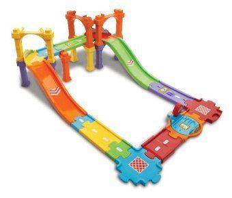 Tut Tut Baby Flitzer - Straßen- und Brückenset groß