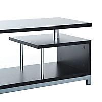TV Lowboard (Farbe: schwarz) - Produktdetailbild 5