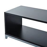 TV Lowboard (Farbe: schwarz) - Produktdetailbild 6