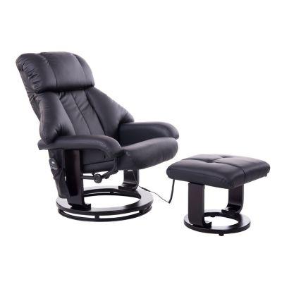 TV Sessel mit Massage- und Heizfunktion (Farbe: schwarz)