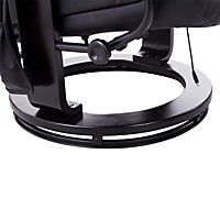 TV Sessel mit Massage- und Heizfunktion (Farbe: schwarz) - Produktdetailbild 1