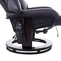 TV Sessel mit Massage- und Heizfunktion (Farbe: schwarz) - Produktdetailbild 6