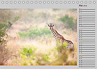 Twigas - Giraffen (Tischkalender 2019 DIN A5 quer) - Produktdetailbild 5