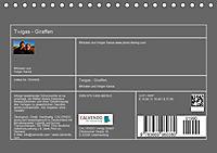 Twigas - Giraffen (Tischkalender 2019 DIN A5 quer) - Produktdetailbild 13