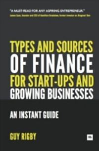 sources of finance for entrepreneurs pdf