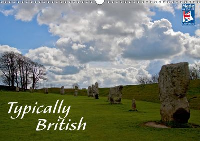 Typically British From a German Point of View (Wall Calendar 2019 DIN A3 Landscape), Silvia Drafz