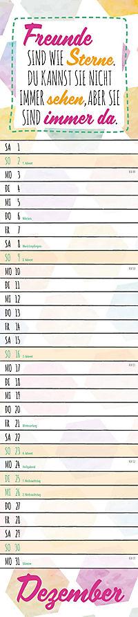 Typographie Streifenkal. 2018 - Produktdetailbild 12
