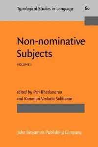 Typological Studies in Language: Non-nominative Subjects