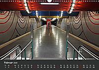 U-Bahn-Stationen des Westens (Wandkalender 2019 DIN A3 quer) - Produktdetailbild 2