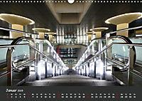 U-Bahn-Stationen des Westens (Wandkalender 2019 DIN A3 quer) - Produktdetailbild 1