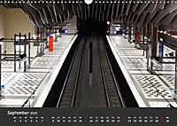 U-Bahn-Stationen des Westens (Wandkalender 2019 DIN A3 quer) - Produktdetailbild 9
